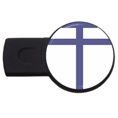 Patriarchal Cross  Usb Flash Drive Round (2 Gb)