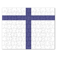 Patriarchal Cross  Rectangular Jigsaw Puzzl