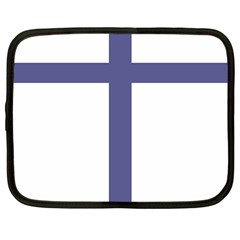 Patriarchal Cross  Netbook Case (large)