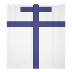 Patriarchal Cross  Shower Curtain 66  X 72  (large)