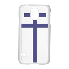 Patriarchal Cross  Samsung Galaxy S5 Case (White)