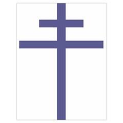 Patriarchal Cross  Drawstring Bag (Large)