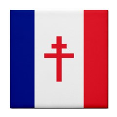 Flag of Free France (1940-1944) Tile Coasters