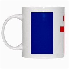 Flag Of Free France (1940 1944) White Mugs