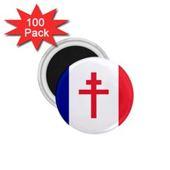 Flag Of Free France (1940 1944) 1 75  Magnets (100 Pack)