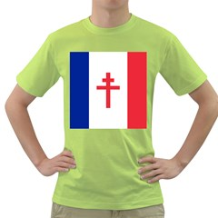 Flag of Free France (1940-1944) Green T-Shirt