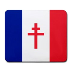 Flag Of Free France (1940 1944) Large Mousepads