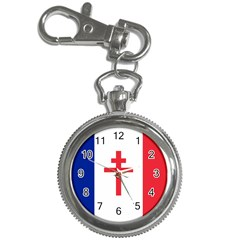 Flag Of Free France (1940 1944) Key Chain Watches