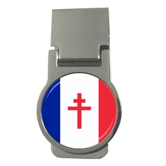 Flag Of Free France (1940 1944) Money Clips (round)