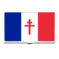 Flag Of Free France (1940 1944) Business Card Holders