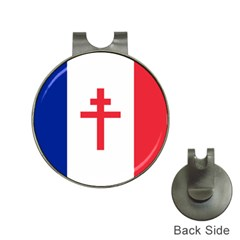 Flag Of Free France (1940 1944) Hat Clips With Golf Markers