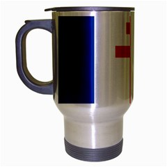 Flag Of Free France (1940 1944) Travel Mug (silver Gray)