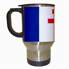 Flag Of Free France (1940 1944) Travel Mugs (white)