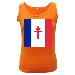 Flag Of Free France (1940 1944) Women s Dark Tank Top