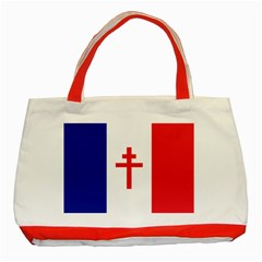 Flag Of Free France (1940 1944) Classic Tote Bag (red)