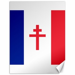 Flag Of Free France (1940 1944) Canvas 18  X 24