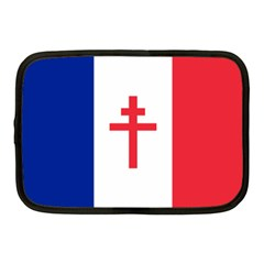 Flag Of Free France (1940 1944) Netbook Case (medium)
