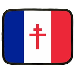 Flag Of Free France (1940 1944) Netbook Case (large)