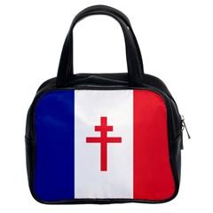 Flag of Free France (1940-1944) Classic Handbags (2 Sides)