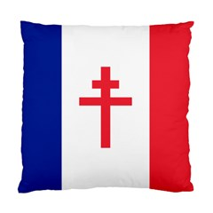 Flag Of Free France (1940 1944) Standard Cushion Case (one Side)