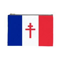 Flag Of Free France (1940 1944) Cosmetic Bag (large)
