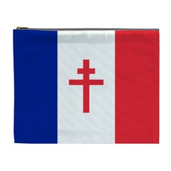 Flag of Free France (1940-1944) Cosmetic Bag (XL)