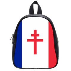 Flag Of Free France (1940 1944) School Bags (small)