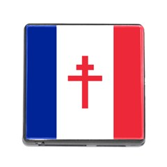 Flag Of Free France (1940 1944) Memory Card Reader (square)