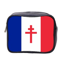 Flag Of Free France (1940 1944) Mini Toiletries Bag 2 Side