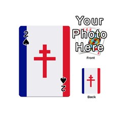 Flag of Free France (1940-1944) Playing Cards 54 (Mini)