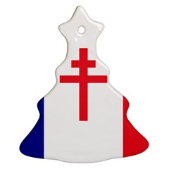 Flag Of Free France (1940 1944) Ornament (christmas Tree)