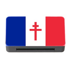 Flag Of Free France (1940 1944) Memory Card Reader With Cf