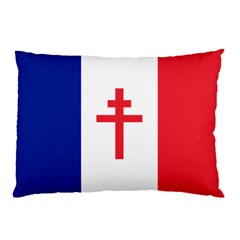 Flag Of Free France (1940 1944) Pillow Case (two Sides)