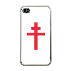 Flag Of Free France (1940 1944) Apple Iphone 4 Case (clear)