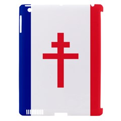 Flag Of Free France (1940 1944) Apple Ipad 3/4 Hardshell Case (compatible With Smart Cover)