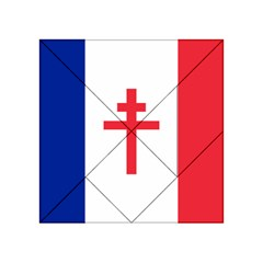Flag Of Free France (1940 1944) Acrylic Tangram Puzzle (4  X 4 )