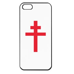 Flag of Free France (1940-1944) Apple iPhone 5 Seamless Case (Black)