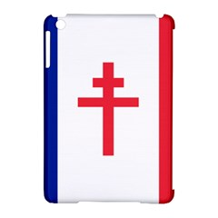Flag Of Free France (1940 1944) Apple Ipad Mini Hardshell Case (compatible With Smart Cover)