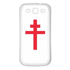 Flag of Free France (1940-1944) Samsung Galaxy S3 Back Case (White)