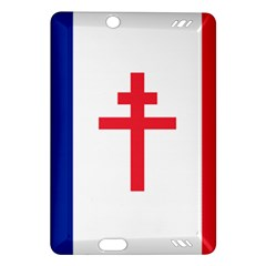 Flag Of Free France (1940 1944) Amazon Kindle Fire Hd (2013) Hardshell Case
