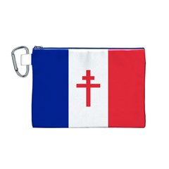 Flag of Free France (1940-1944) Canvas Cosmetic Bag (M)