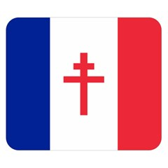 Flag of Free France (1940-1944) Double Sided Flano Blanket (Small)