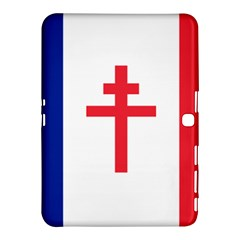 Flag Of Free France (1940 1944) Samsung Galaxy Tab 4 (10 1 ) Hardshell Case