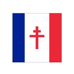 Flag of Free France (1940-1944) Satin Bandana Scarf