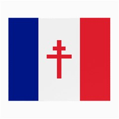 Flag Of Free France (1940 1944) Small Glasses Cloth
