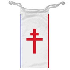 Flag Of Free France (1940 1944) Jewelry Bag