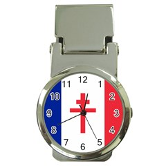 Flag of Free France (1940-1944) Money Clip Watches