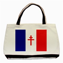 Flag of Free France (1940-1944) Basic Tote Bag