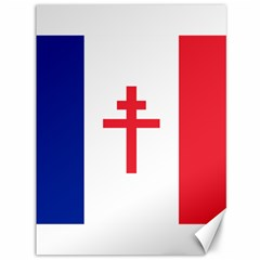 Flag of Free France (1940-1944) Canvas 36  x 48