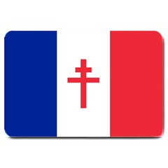 Flag Of Free France (1940 1944) Large Doormat